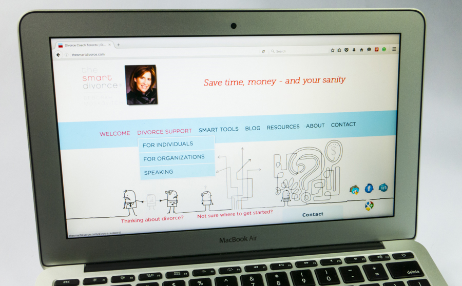The Smart Divorce Website
