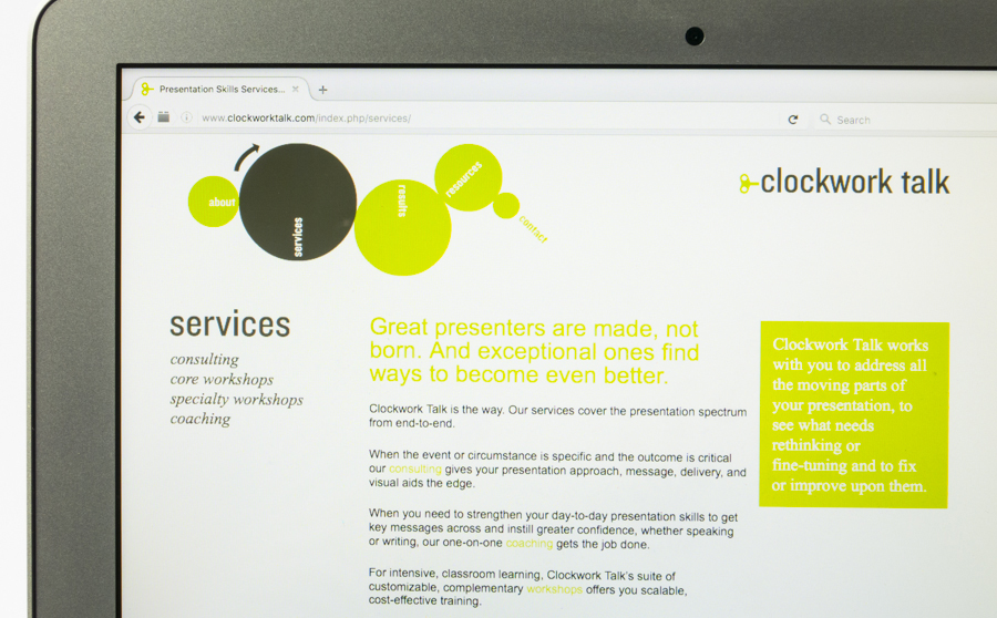 Clockwork Talk Website