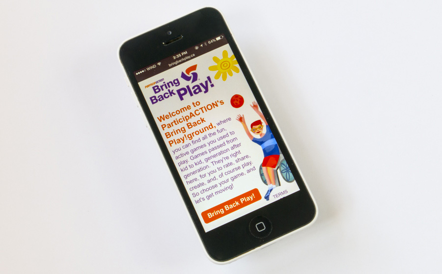 ParticipACTION Bring Back Play App